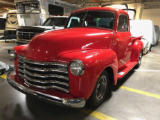 1950 Chevy Truck Fire Red