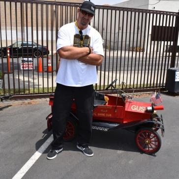 Big guy (Matt Willig) or small car?